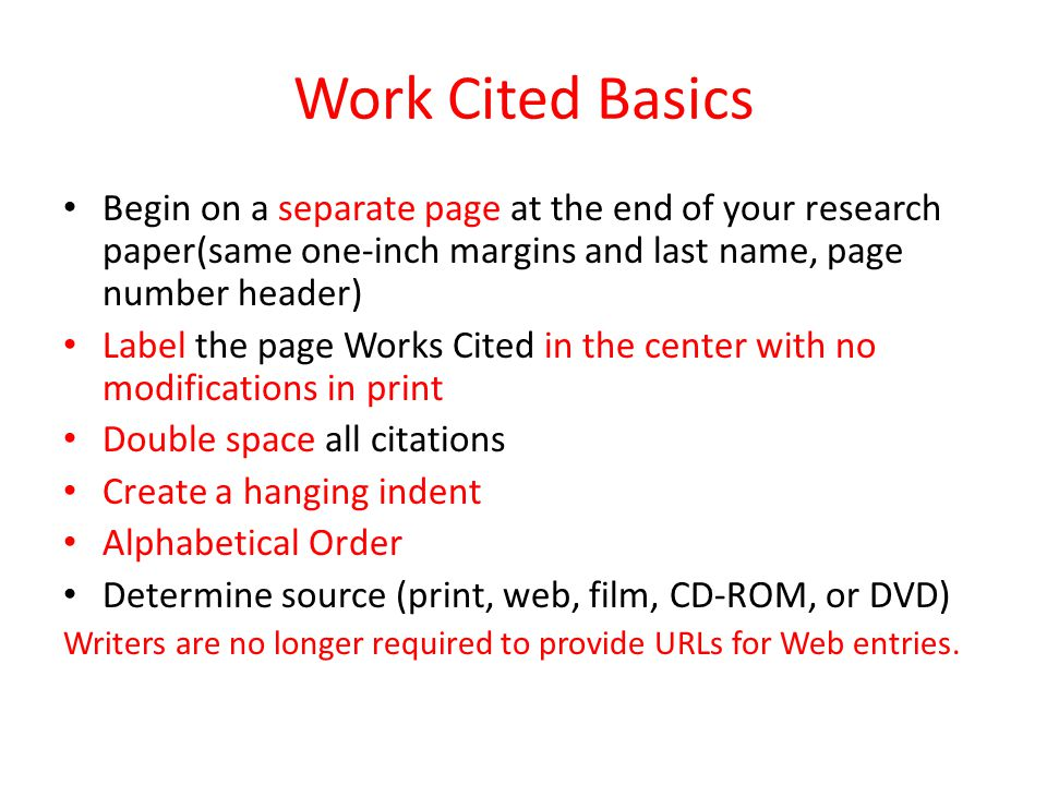 Works Cited Samples For Web Sites General Format: Author(s).