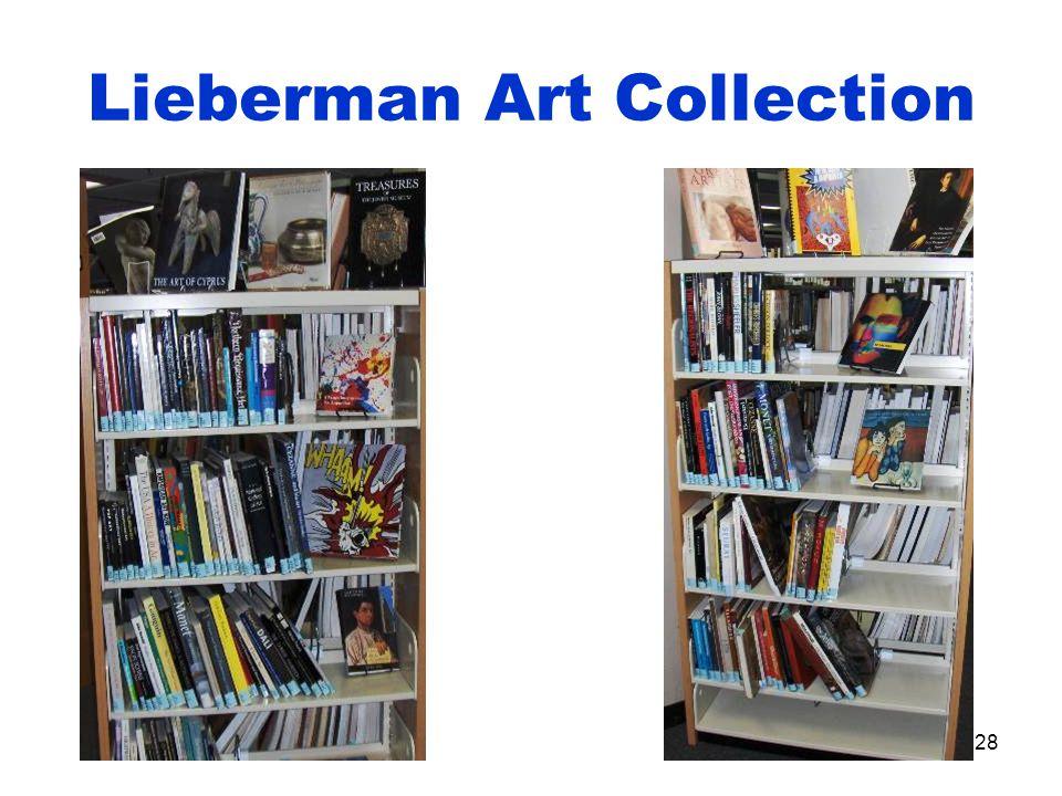 28 Lieberman Art Collection
