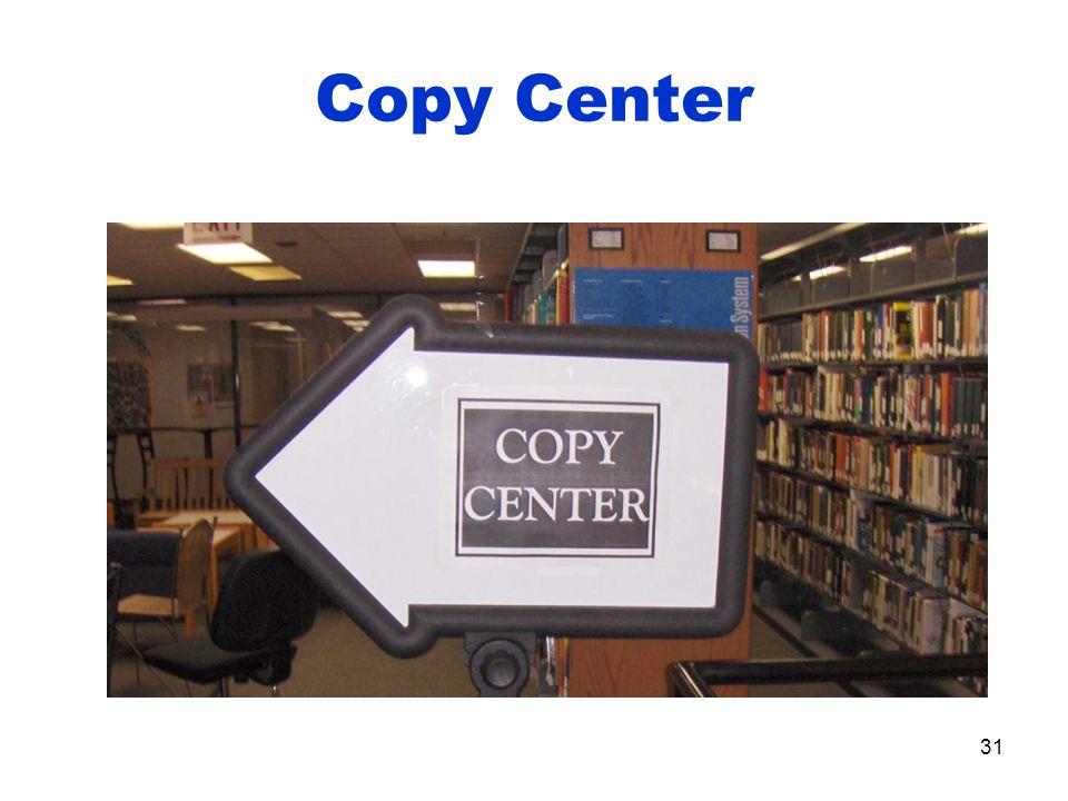 Copy Center 31