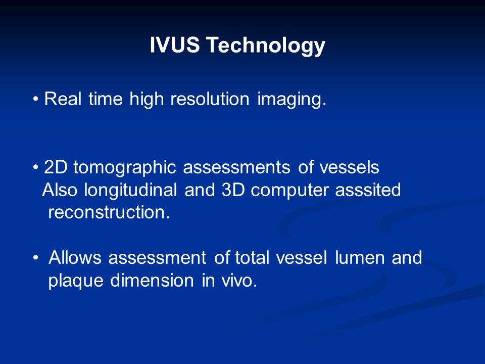 Two main IVUS systems are currently in use: 1- A mechanical system that contains a flexible imaging cable which rotates a single transducer at its tip inside an echo-lucent distal sheath.