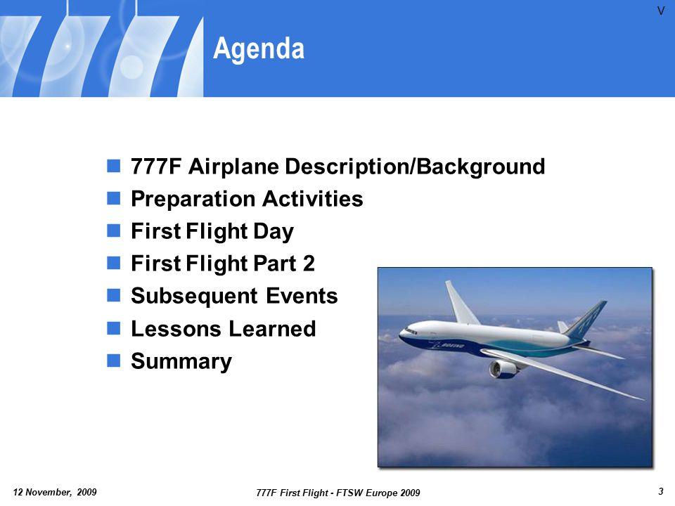 12 November, 2009 777F First Flight - FTSW Europe 2009 24 Aileron Vibration Video V