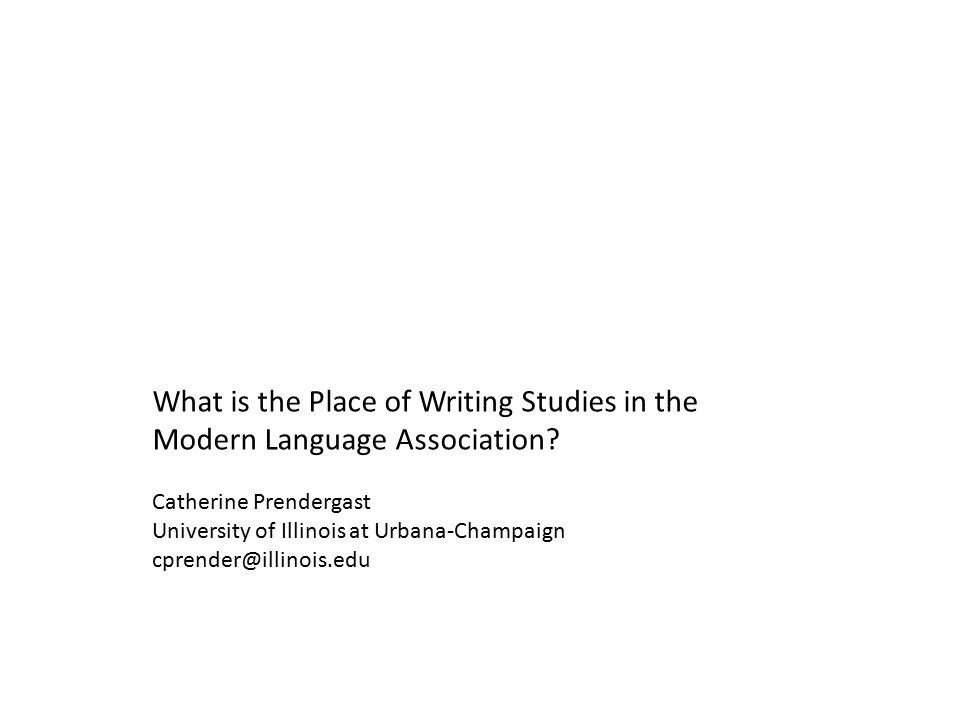 Source: Office of Research, Modern Language Association.
