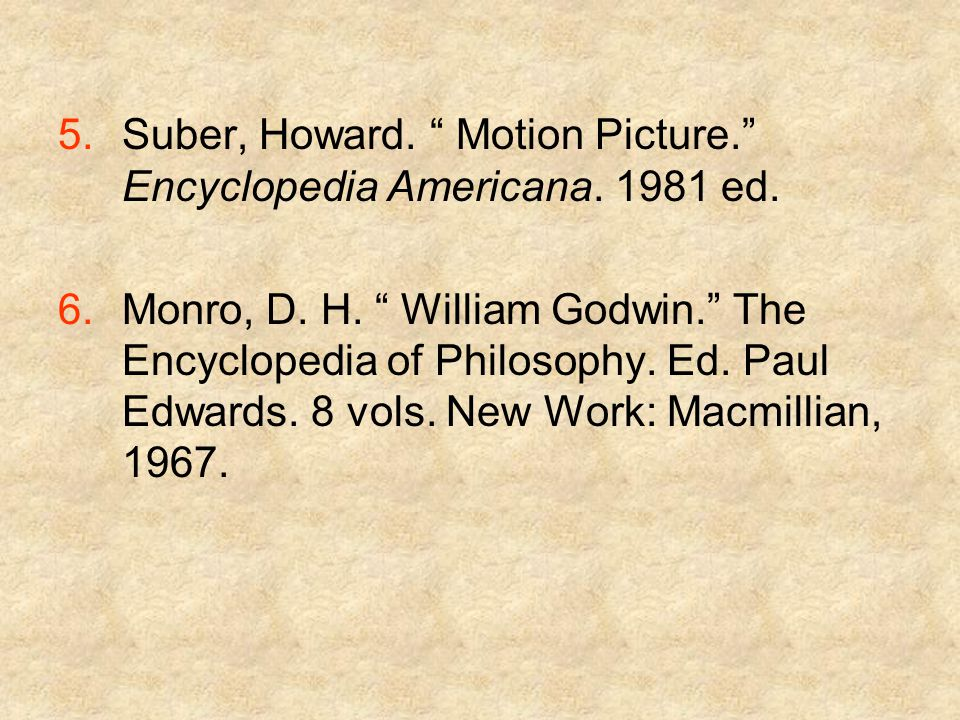 5.Suber, Howard. Motion Picture. Encyclopedia Americana.