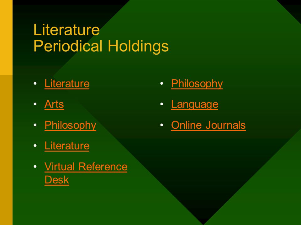 Reference Collections (Print Resources for Literature: Biography) Contemporary Authors - PS 128.C63 Something About the Author - PN 451.S6 Twentieth Century Authors - PN 771.K86 Black Writers - E 185.96.B545 Dictionary of Am.