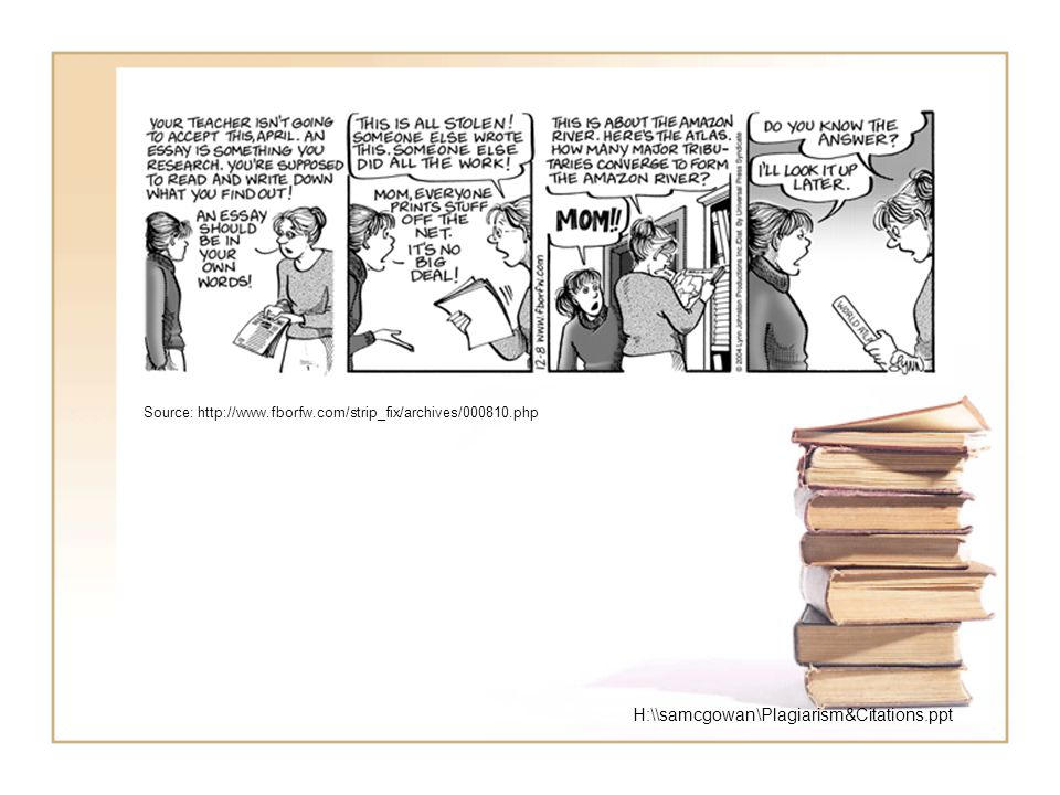 Source: http://www.fborfw.com/strip_fix/archives/000810.php H:\\samcgowan\Plagiarism&Citations.ppt
