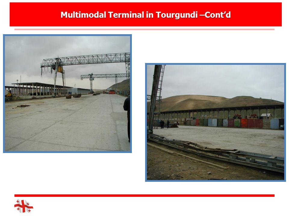 Multimodal Terminal in Tourgundi –Cont'd