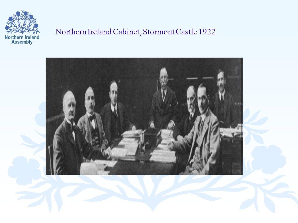Northern Ireland Cabinet, Stormont Castle 1922