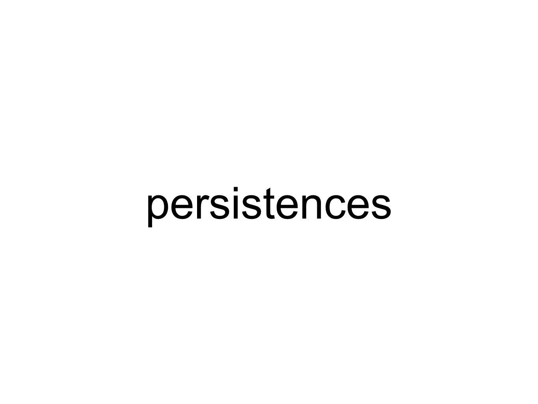 persistences