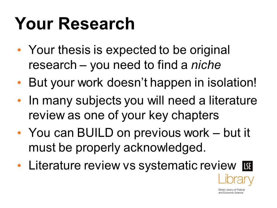 you and your thesis caltech