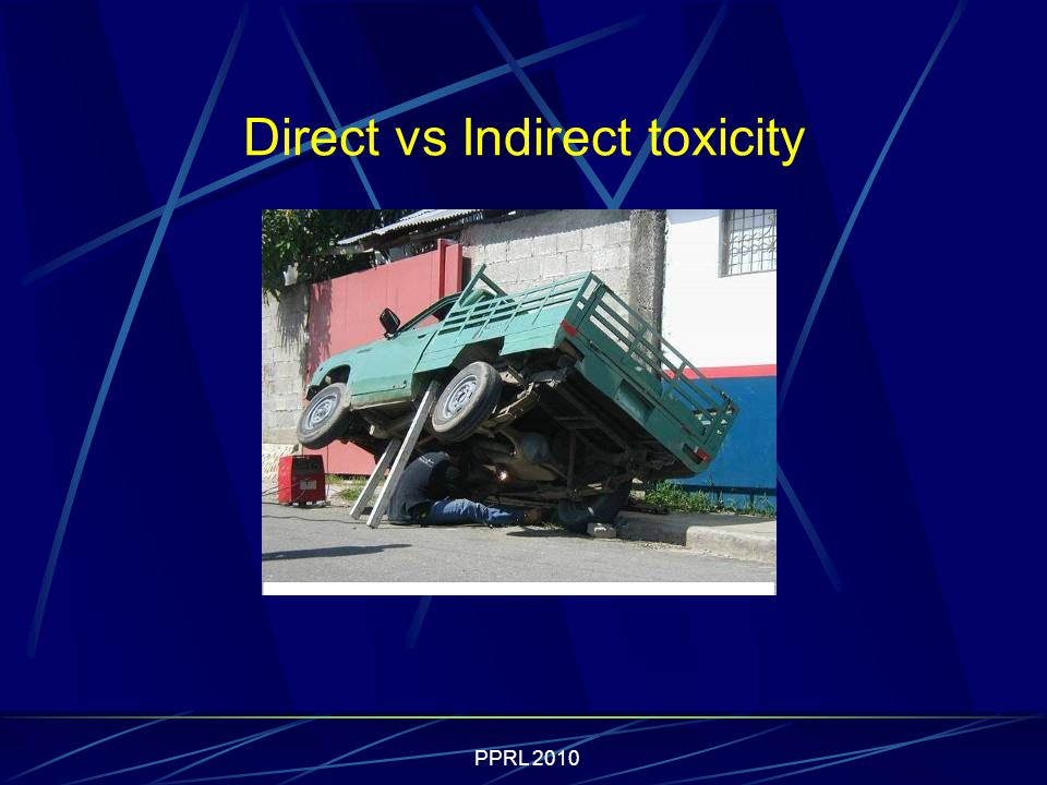 PPRL 2010 Direct vs Indirect toxicity