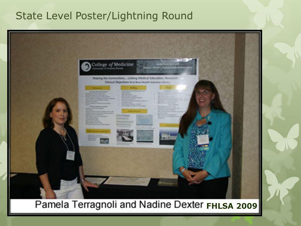 State Level Poster/Lightning Round FHLSA 2009