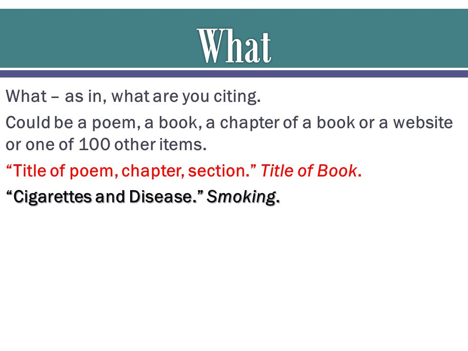 Pietrusa, David. Cigarettes and Disease. Smoking. Or Pietrusa, David. Smoking.