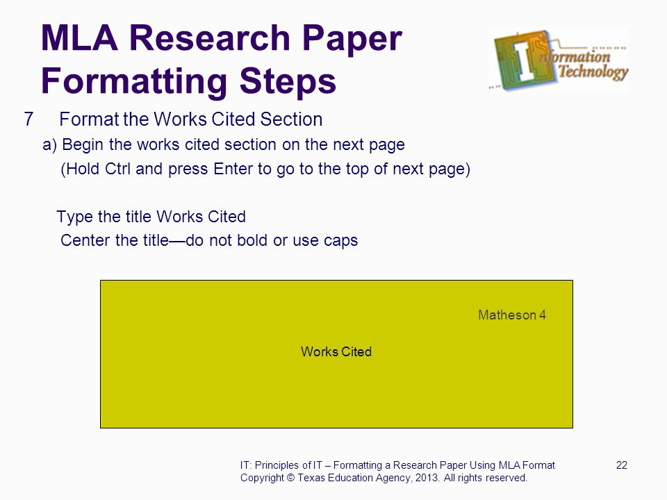 how is a mla format research paper suppost to look What does an research paper outline look like  in mla format does the thesis statement on the outline have to be the same to start the research paper.