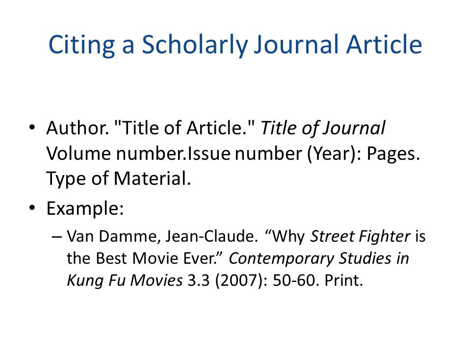 Citing a Newspaper Article Author. Title of Article. Title of Newspaper Date, Page(s).
