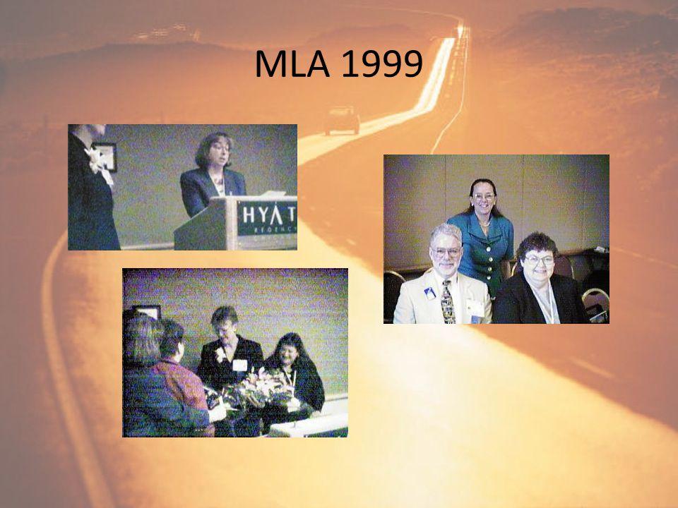 Poster at MLA 1998