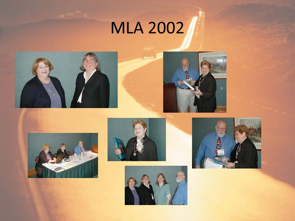 NAHRS Members at MLA 2001