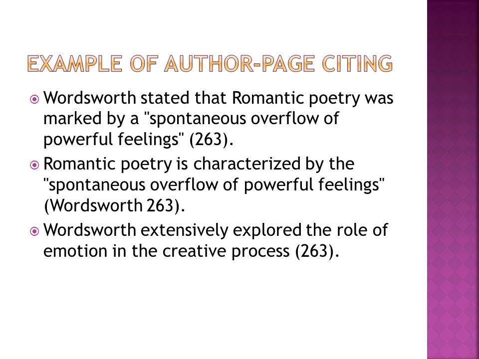  In MLA style, referring to works of others in your text is done by using what is know as parenthetical citation.