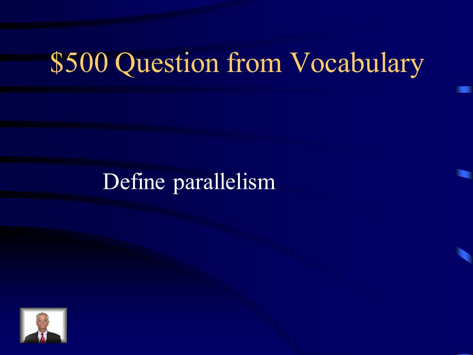 $400 Answer from Vocabulary Powerful language