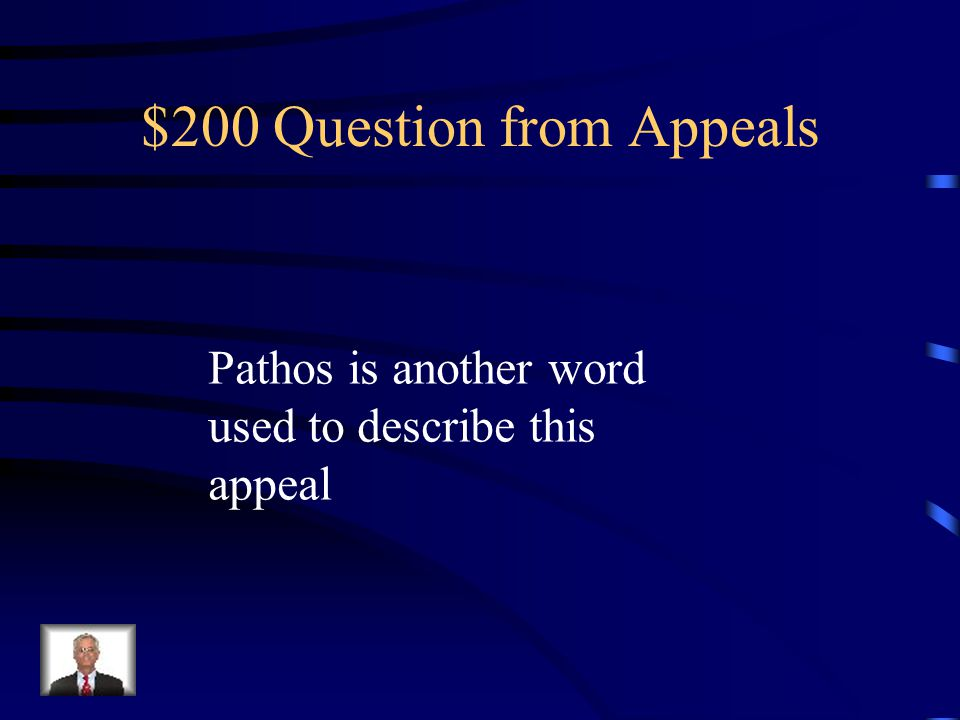 $100 Answer from Appeals Emotional