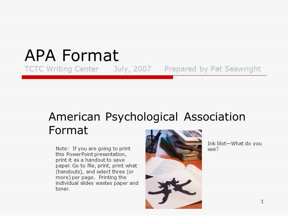 2 Who Uses APA.