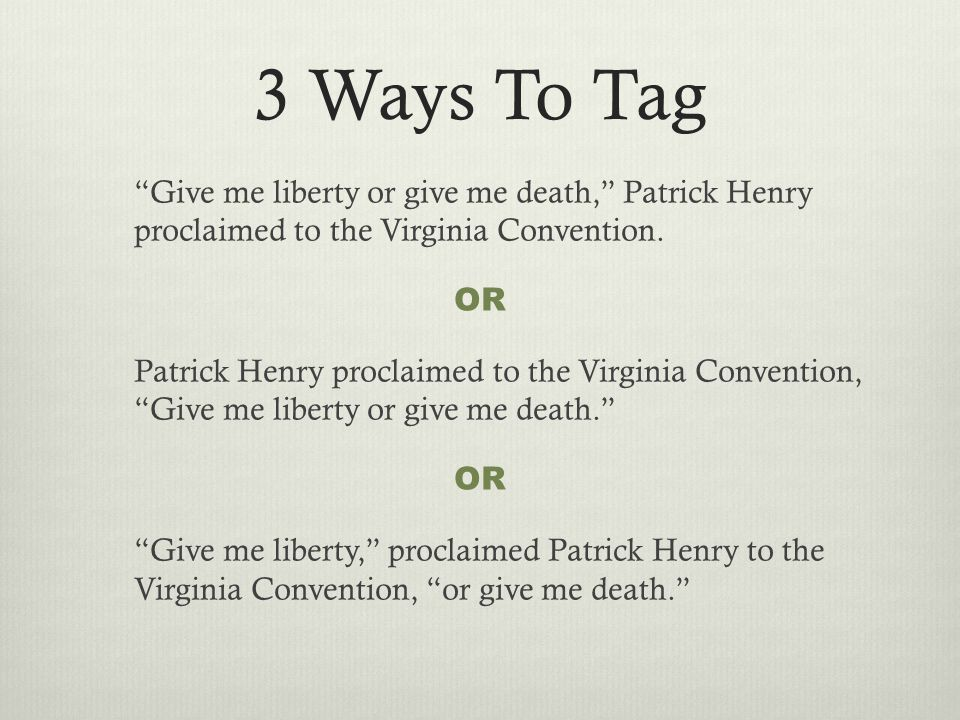 Perfect Paragraph Patrick Henry bases one of his primary arguments for armed revolution upon his belief that God is on America's side.