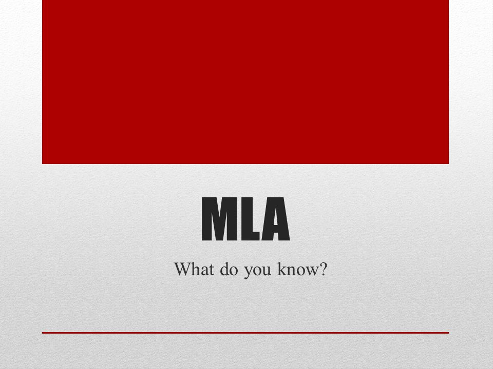 FONT I know what the required MLA font style and size should be and how to change the it in a Microsoft Word document… A.Never heard of it B.Heard of it C.Have some idea D.Can do it myself E.Can explain it to someone else