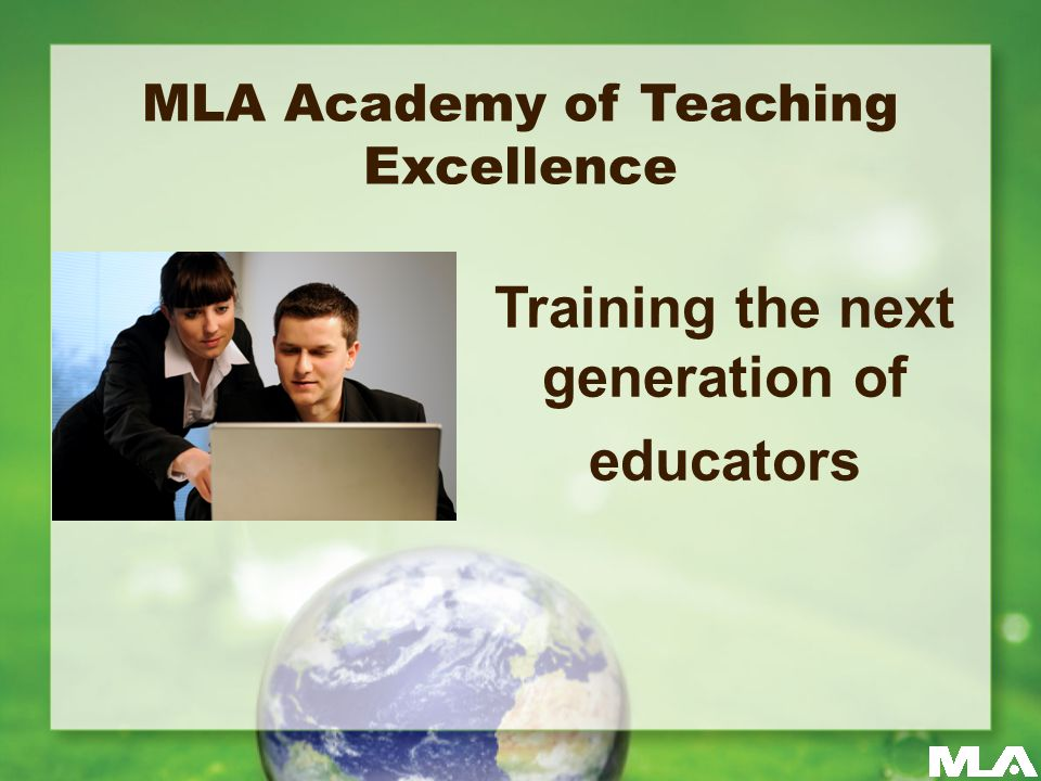 Apply for an MLA committee.