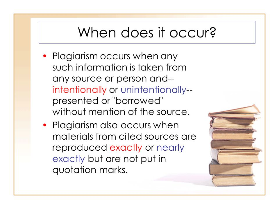 Turn-Pair-Share What are the consequences for students if they plagiarize?