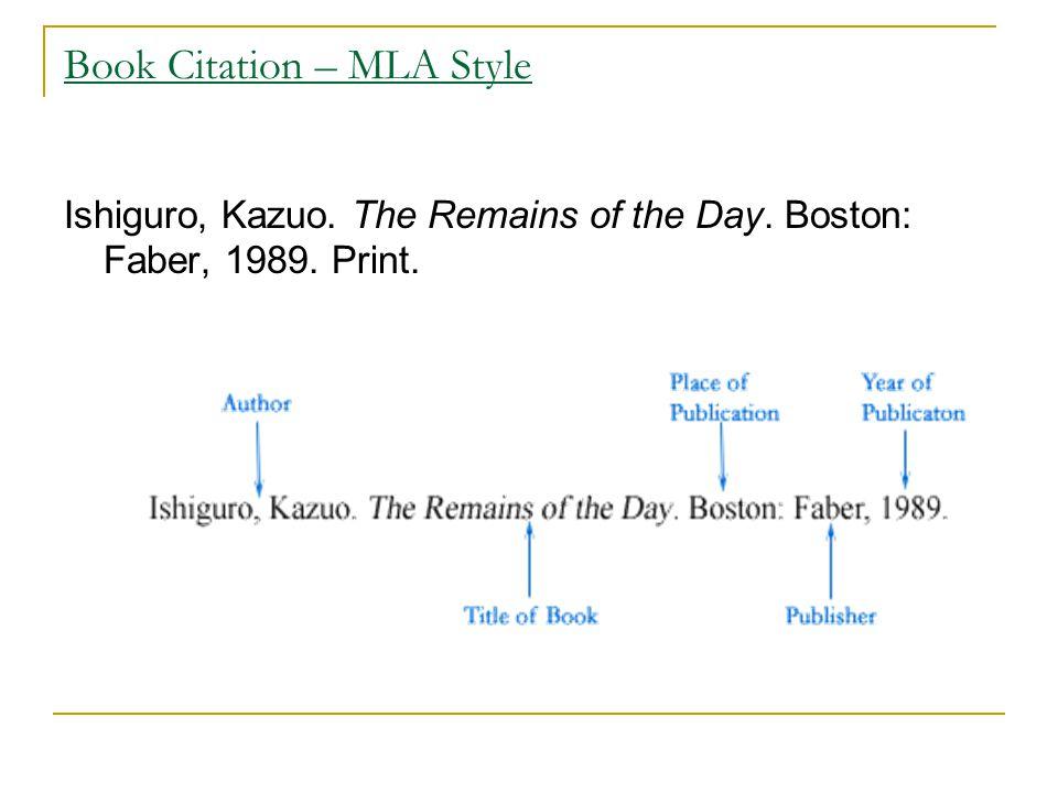 Magazine Citation – MLA Style Alvarez, Gloria.