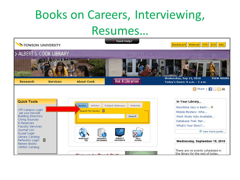 Books on Careers, Interviewing, Resumes…