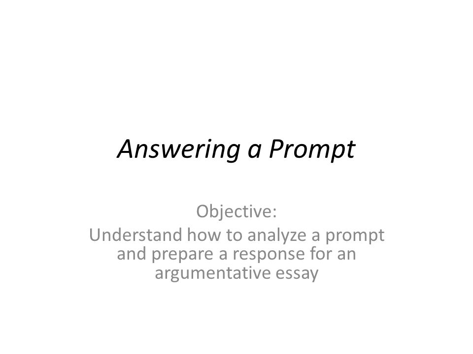 answering essay prompts Tips for writing essay questions on standardized tests the ultimate guide to essay questions.