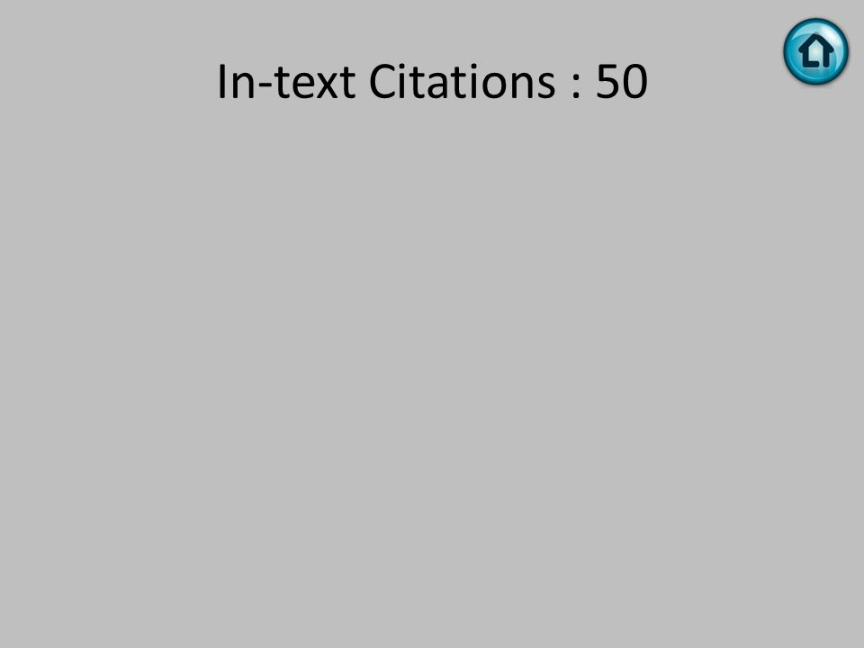 In-text Citations : 50
