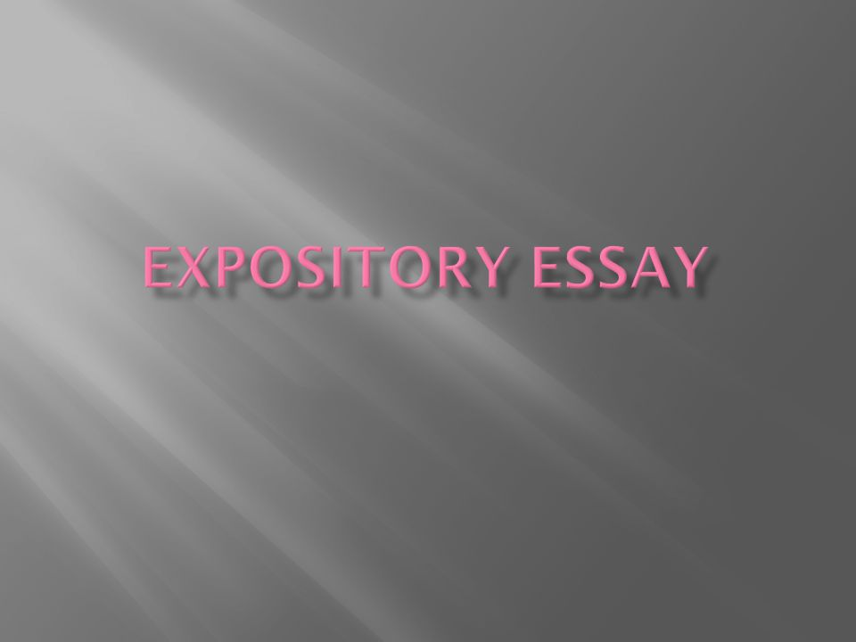  Attention grabber again  Like when you warm-up and cool down when working out, you must do the same with your essays.