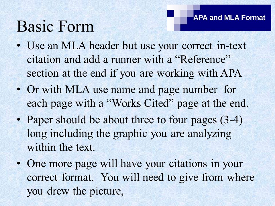 APA puts in a running banner here.MLA do as it is shown here.