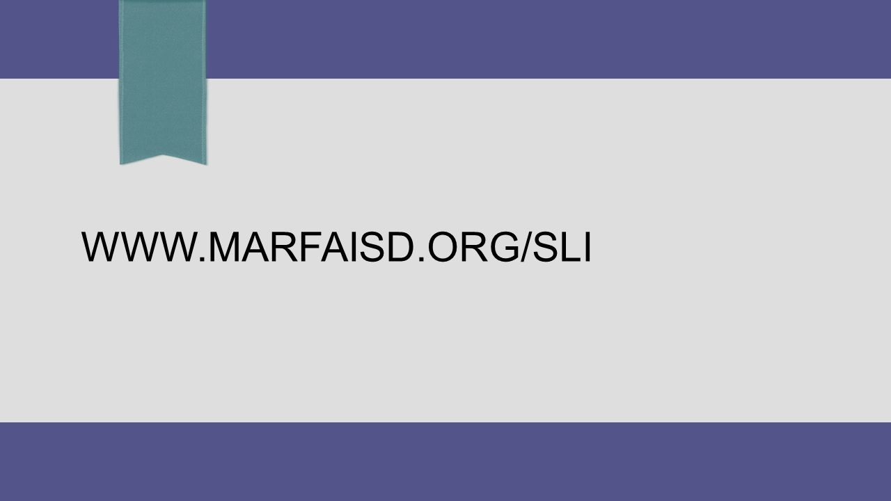 WWW.MARFAISD.ORG/SLI