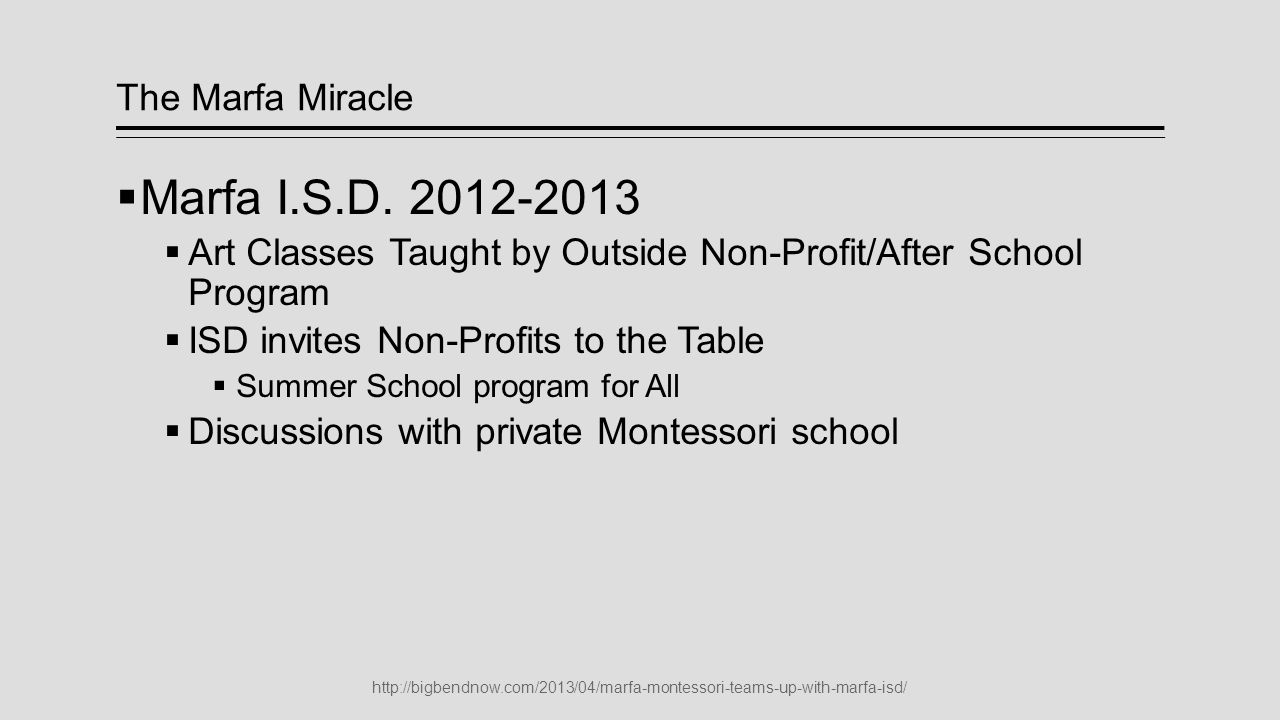 Montessori  Successful Private School  3, 4 and 5 year olds.
