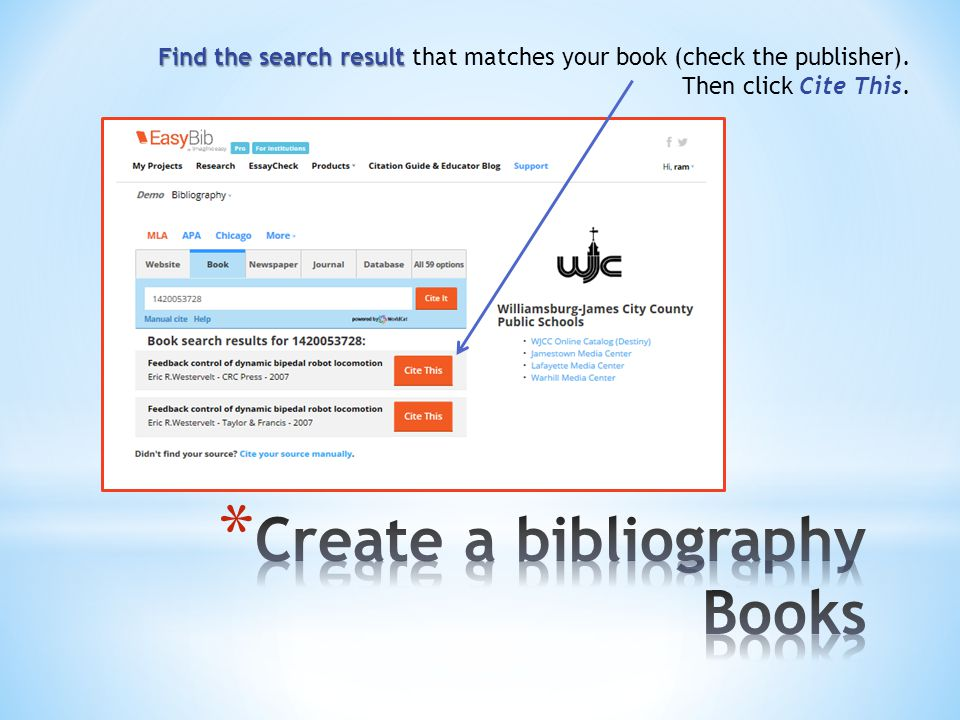 Fill in Fill in additional information, if needed. Create Citation Then click Create Citation.
