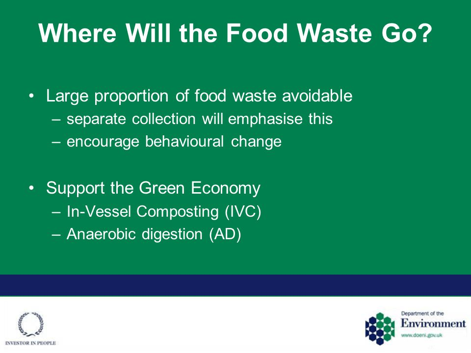 Where Will the Food Waste Go.