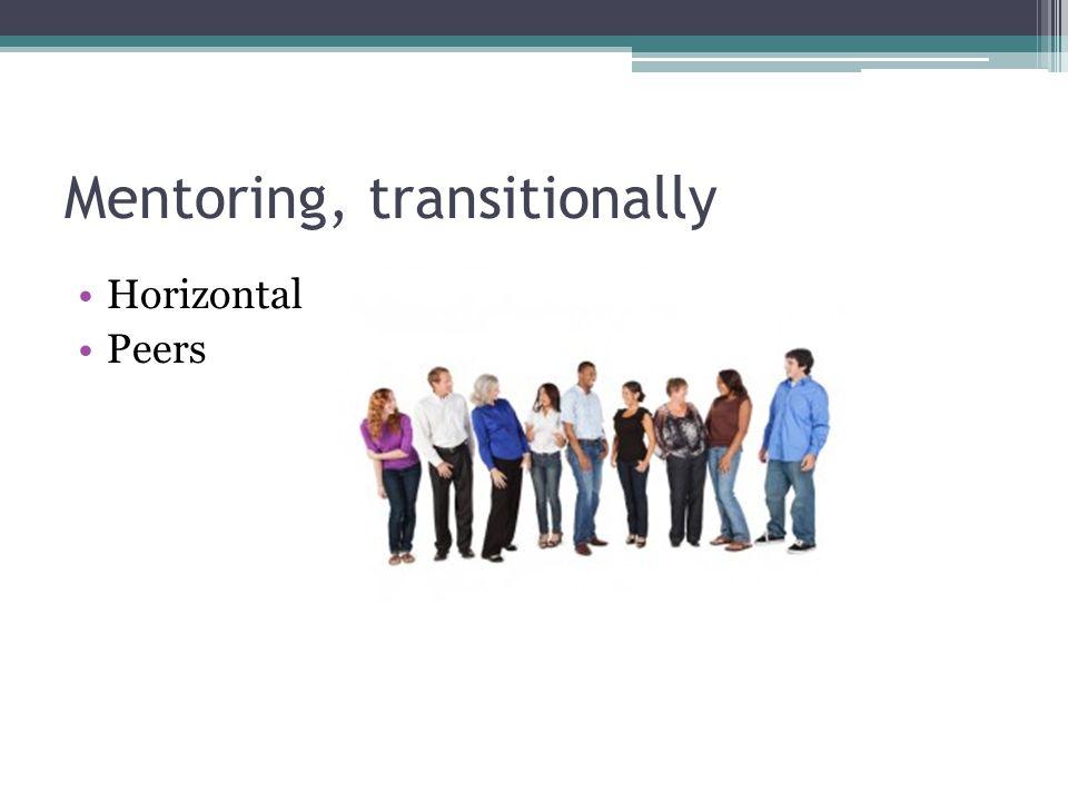 Horizontal Peers Mentoring, transitionally