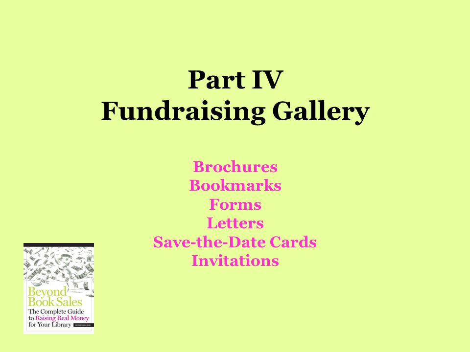 TWELVE MUST-KNOW FACTS ABOUT LIBRARY FUNDRAISING