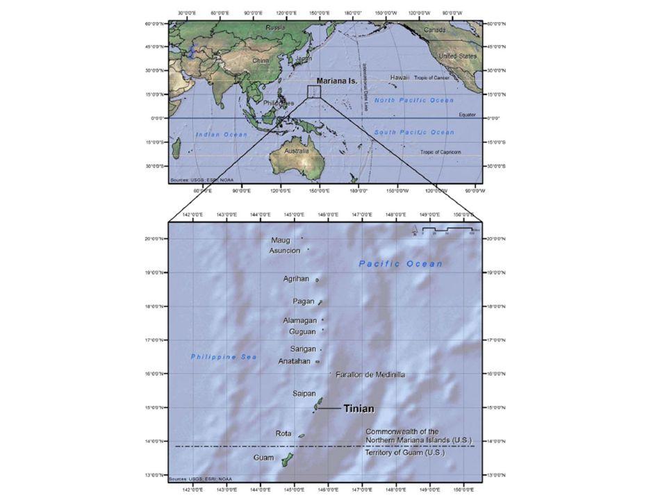 Mariana Islands Range Complex - - Marianas Islands Training and Testing - Farallon de Medinilla range Aerial bombardment, missile ex, gunnery ex, naval surface firing.