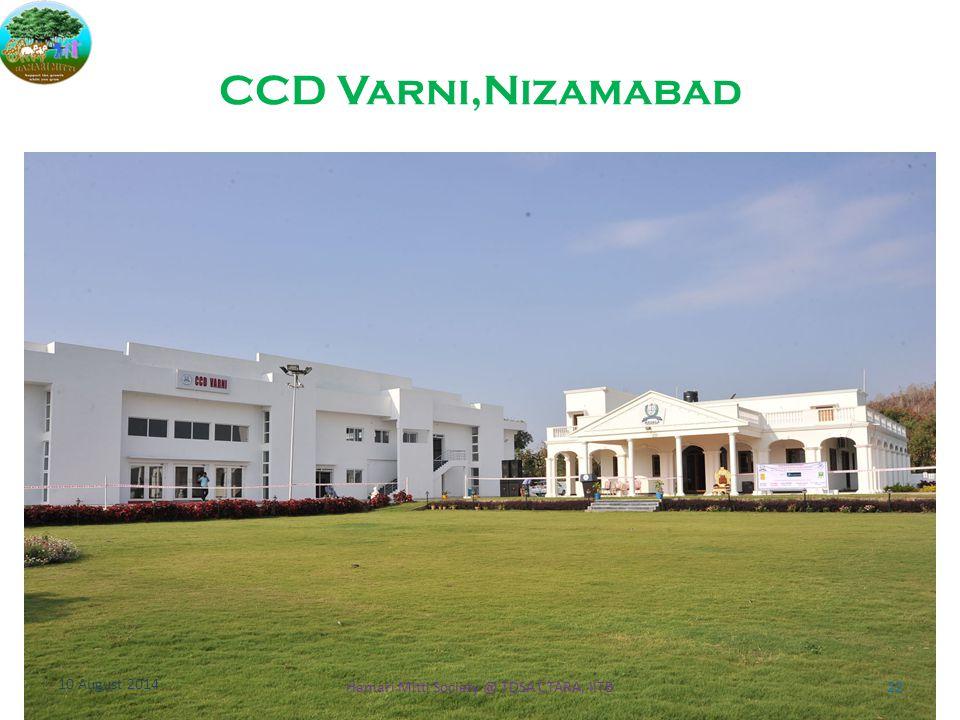 CCD Varni,Nizamabad 10 August 2014 22Hamari Mitti Society @ TDSA CTARA, IITB