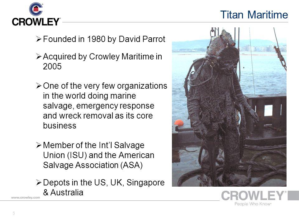 Crowley / Titan 36 Thank You!