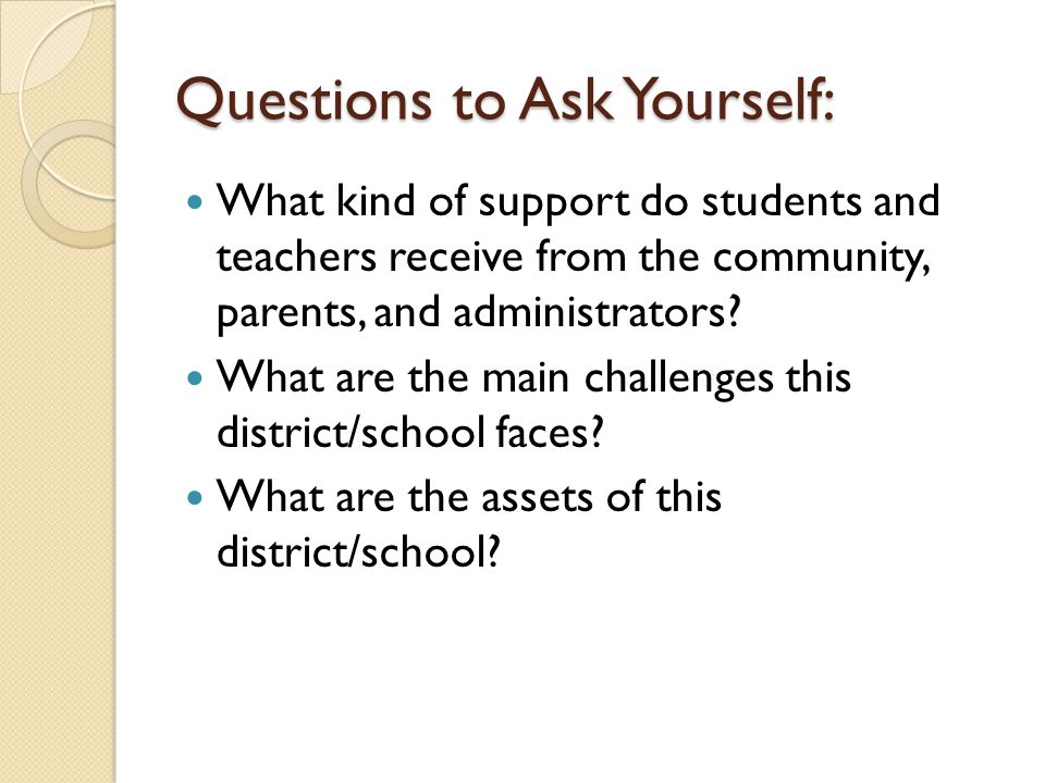 Resources for Macro Context School/student handbook Teachers/principal Infoworks School and district websites RIDE website Others?