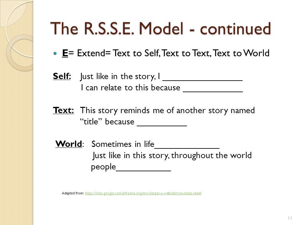 The R.S.S.E.