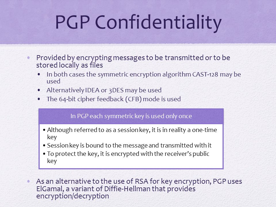 Summary Pretty good privacy Notation Operational description DomainKeys Identified Mail Internet mail architecture E-mail threats DKIM strategy DKIM functional flow S/MIME RFC 5322 Multipurpose Internet mail extensions S/MIME functionality S/MIME messages S/MIME certification processing Enhanced security services