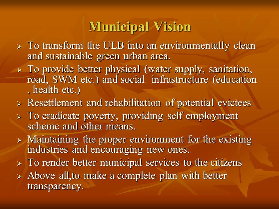 Draft Development Plan (2007-2012) of Hooghly-Chinsurah Municipality of
