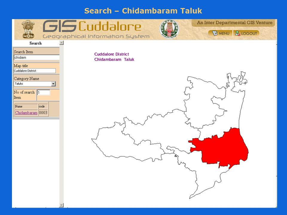 Search – Chidambaram Taluk
