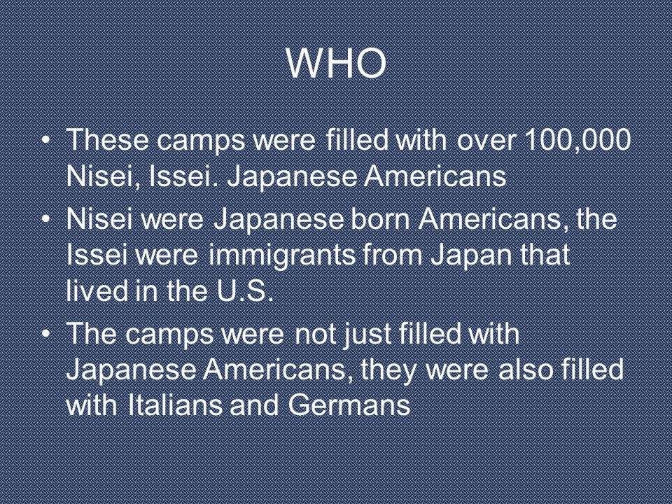 HIGHLIGHTS/QUIZ What were the names of the Japanese Americans I said earlier.