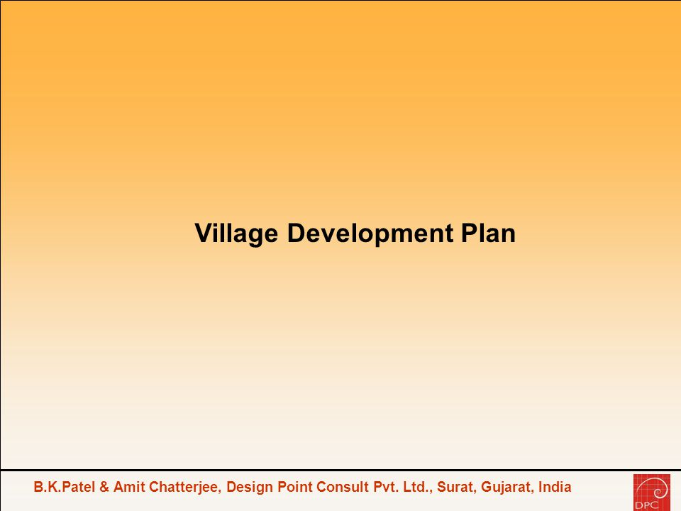 B.K.Patel & Amit Chatterjee, Design Point Consult Pvt.